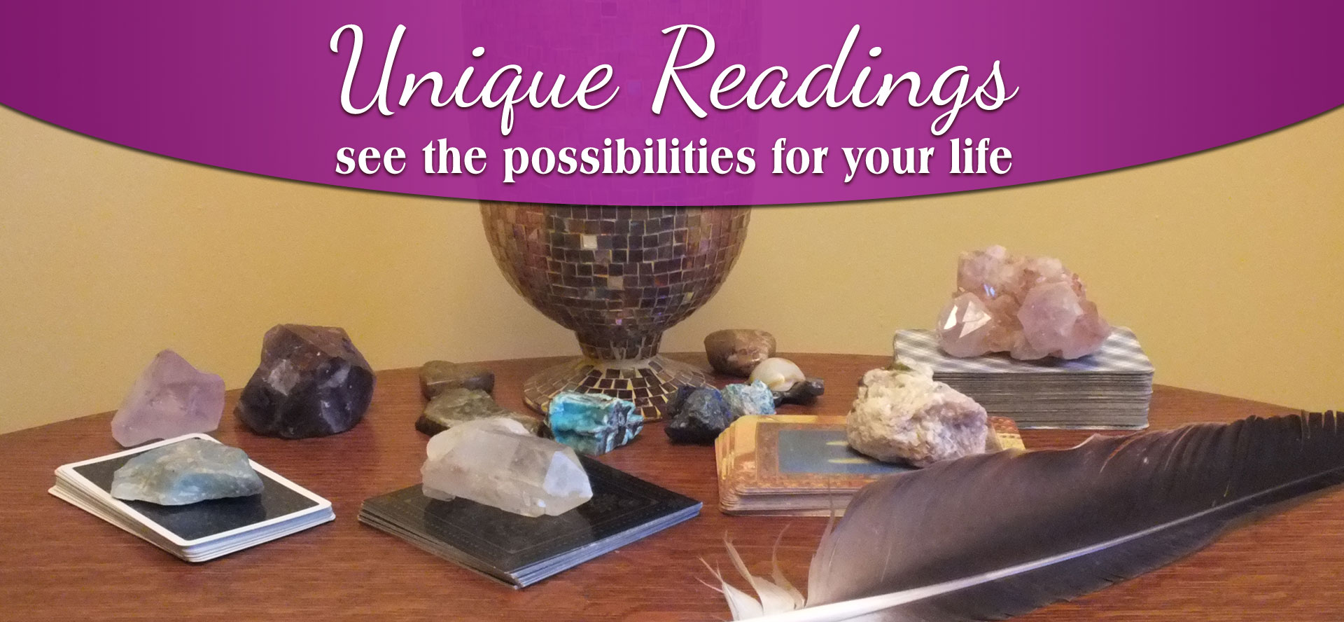 Sandra Wagman | Unique Readings with a Twist